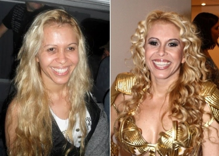 Joelma est&#225; acostumada a grandes produ&#231;&#245;es. Brilhos, cores, plumas e paet&#234;s. Mas se deixou fotografar sem maquiagem. Ser&#225; que cansa essa vida de sombra, blush e batom?