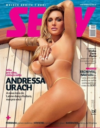 Abril de 2012 - Andressa Urach