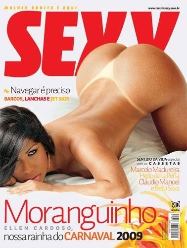Fevereiro de 2009 - Ellen Cardoso, a Mulher Moranguinho