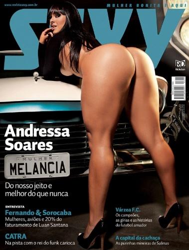 Julho de 2011 - Andressa Soares, a Mulher Melancia