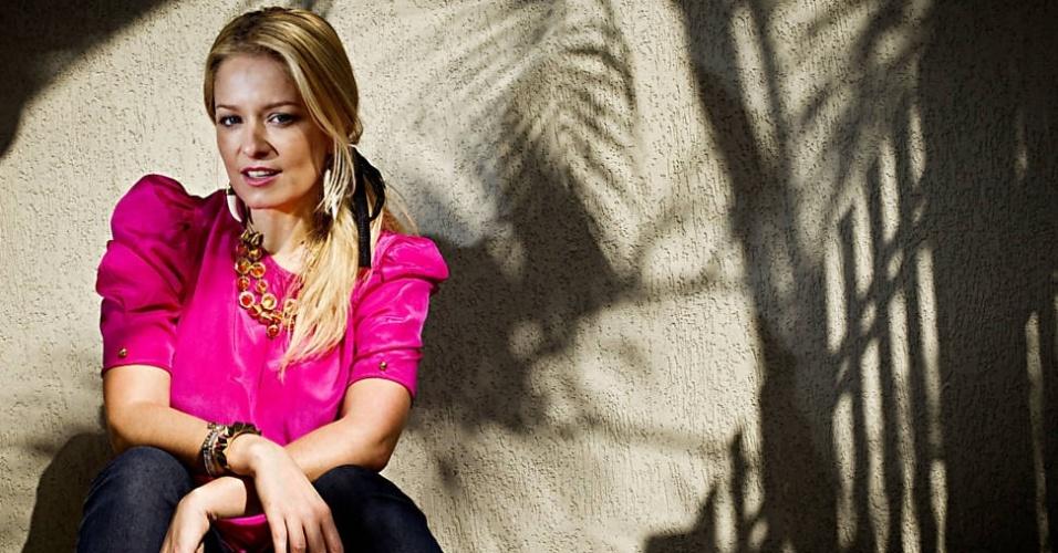 """23.abr.2013 - 23.abr.2013 - Em entrevista à """"Folha de S. Paulo"""", Luciana Vendramini recorda fase em que sofreu com transtorno obsessivo compulsivo (TOC)"""
