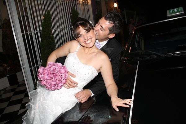 Rodrigo Camargo e Caroline Righi / São Paulo (SP) 20/10/2012