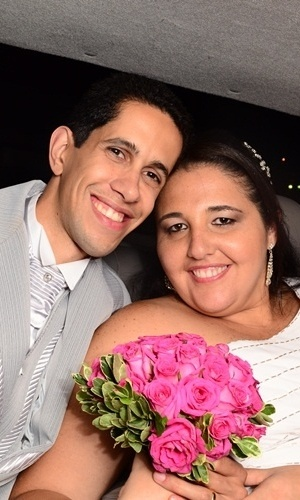 """Diônatas de Farias Pimentel e Vanessa de Assis Pimentel / São Paulo (SP) 12/11/2011. """"Dia inesquecível!"""", disse Vanessa"""