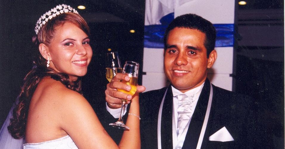 Ismael Costa dos Santos e Bárbara Brandão Silva Costa. 16/09/2005, Manaus (AM)