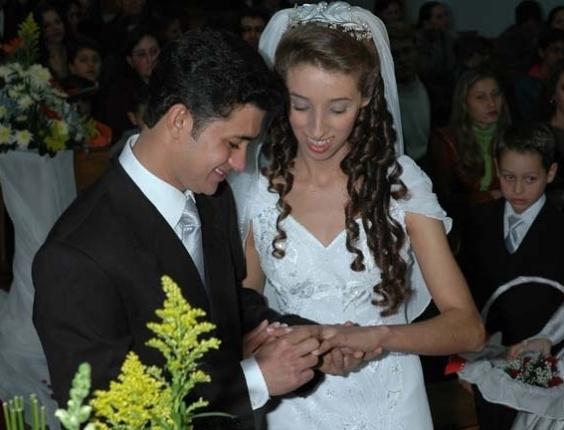 Marli Jane Oliveira Rodrigues e Luiz Carlos Rodrigues da Silva. 01/07/2006, Parobé (RS)