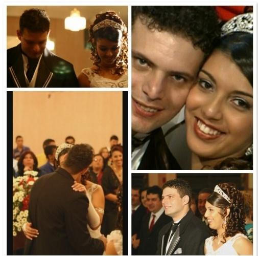 Adriano Soares e Gabrielli Soares se casaram no dia 17 de maio 2006 na Paróquia Santa Ana, em Limeira (SP).