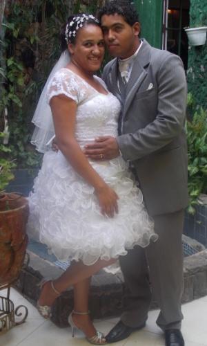 """Ana Karolina Félix e Benjamim Ferreira se casaram no dia 6 de janeiro 2013, em São Paulo. """"Nos amamos. Nossa relação de amor é maravilhosa""""."""