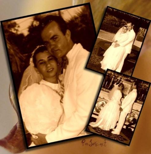 """Marco Antonio Machado Monteiro e Marilúcia Serpa de Atahydes Monteiro se casaram na cidade de Cabo Frio, no Rio de Janeiro, no dia 14 de dezembro de 1991. """"O nosso amor foi tão forte que reuniu nossas famílias, que, embora sendo vizinhas, não se falavam há mais de 15 anos"""", relata o casal."""