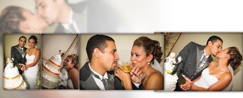 """André H. P. de Almeida e Kelly Viana de Almeida são de Osasco (SP) e se casaran no dia 25 de fevereiro de 2012. """"Foi um dia inesquecível"""", relembra a noiva."""