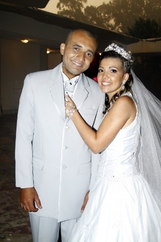 Fernando e Tamiris se casaram em Cotia, no interior de São Paulo, no dia 12 de janeiro de 2013.