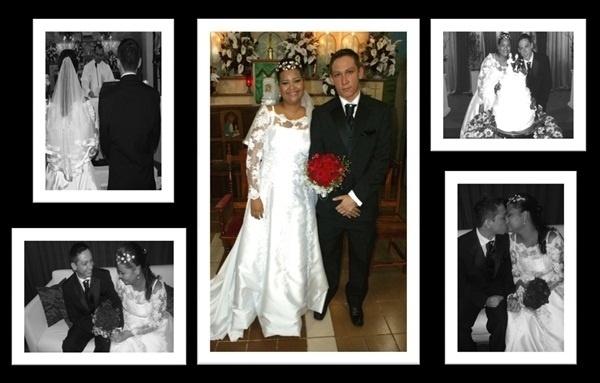 """Rafael de Souza Sillau se casou com Tayane Maria Ferreira Sillau em Macapá (AP), no dia 10 de julho de 2010. """"Fazíamos o mesmo curso quando começamos a namorar. Depois de três anos de namoro, já não dava mais para ficarmos longe um do outro"""", relata a noiva."""