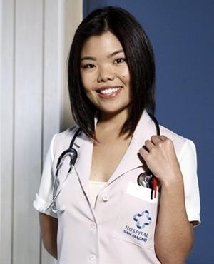 Noriko Akiyoshi (Camila Chiba) - Noriko é uma das funcionárias do Hospital San Magno