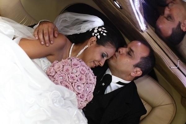 Breno Eduardo Gusmao Barbosa e Adriana Felipe Barreto Gusmao Barbosa são de São Bernardo do Campo (SP). Eles se casaram em 5 de janeiro de 2013.