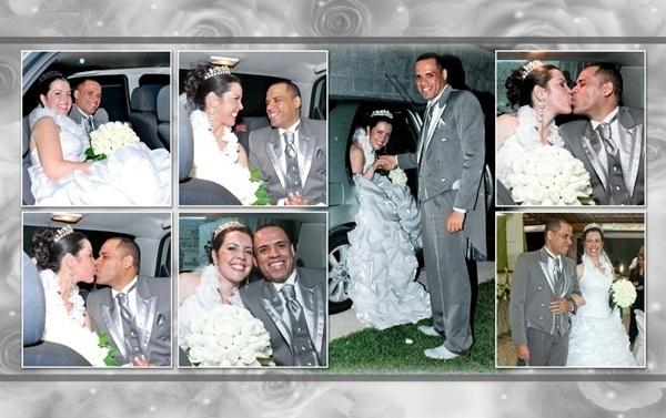 """Jairo Cofani dos Passos e Rosa Carina Bertoletti dos Passos são de Poá (SP). Eles oficializaram a união em 19 de setembro de 2009. """"O dia mais feliz e incrível de nossas vidas! Um grande sonho realizado com muito amor!"""", disse Rosa."""