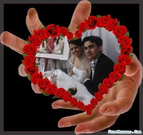 "Marcelo de Oliveira Weiss e Michelle S. Silveira Weiss, de Porto Alegre (RS), se casaram em 3 de novembro de 2007. ""Somos muito felizes""m declarou Michelle."