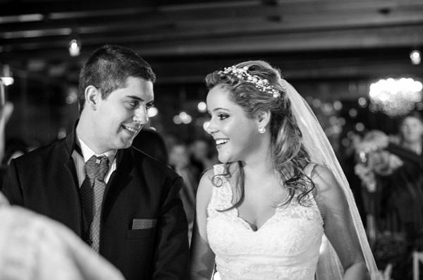 Leandro e Joice Oliveira se casaram em Taubaté (SP), no dia 11 de agosto de 2012.