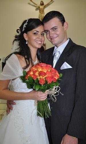 Douglas Guandalim se casou com Walhane Rezende em Costa Rica (MS), no dia 4 de dezembro de 2010.