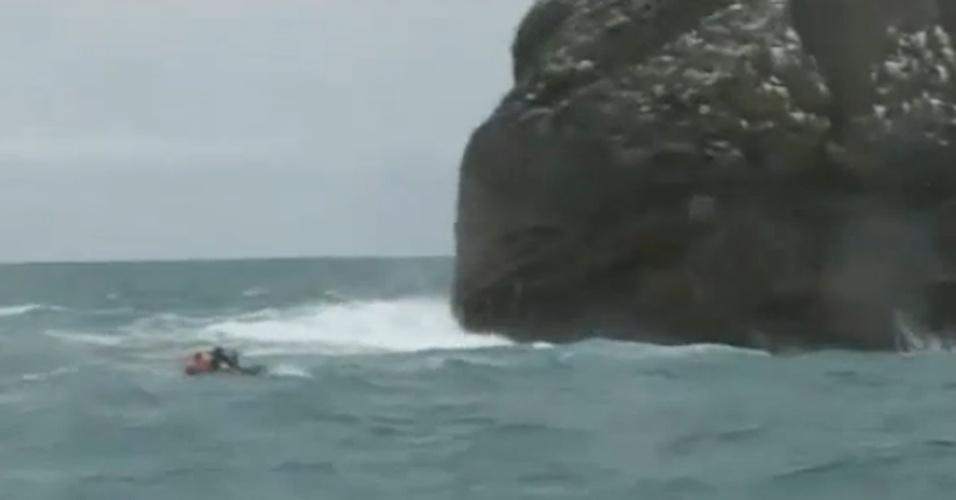 """Segunda-feira (20.mai.2013) - Segundo informações da """"BBC Brasil"""", o aventureiro britânico Nick Hancock está se preparando para o desafio de passar 60 dias na ilha de Rockall, a 418 km das ilhas escocesas Hébridas"""