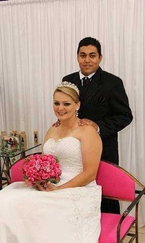 Wendel William de Mattos Souza e Geyse Cristina Leone Souza se casaram em Limeira (SP), no dia 17 de novembro de 2012.