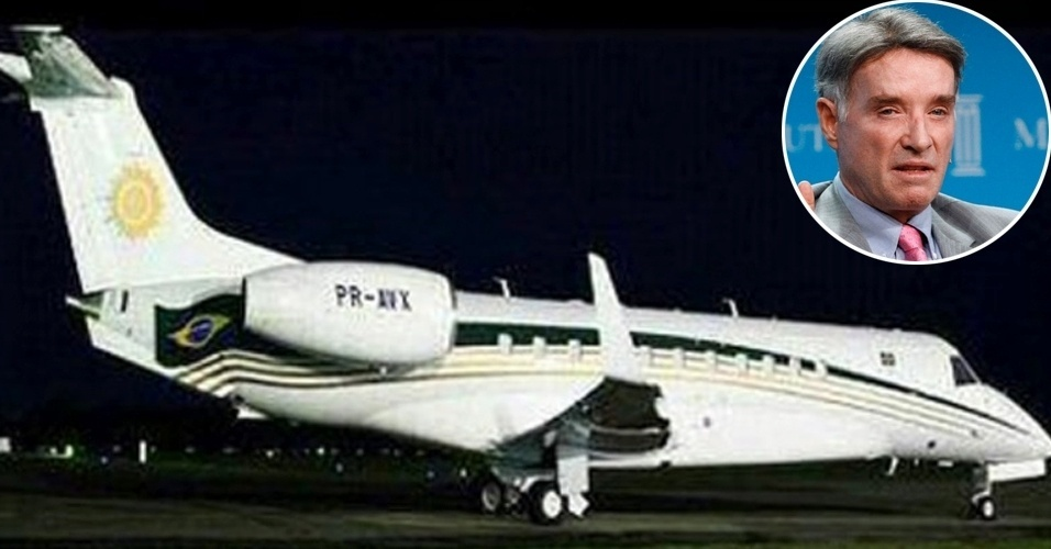 Eike Batista, avião, jato, Legacy 600