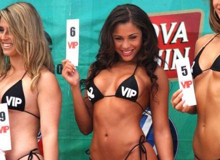 Em 2008, Maria ganhou a etapa Rio do concurso Beach Girl, do campeonato Super Surf e, em seu perfil em site de relacionamento, a modelo postou várias fotos do evento usando um biquíni minúsculo.
