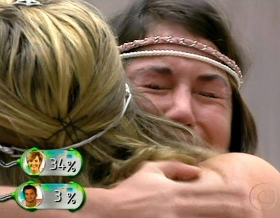 Maria chora e pede desculpas a Paula, dizendo que gosta muito da estudante (20/3/11).