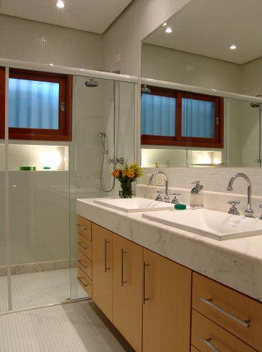 decoracao banheiro velho : decoracao banheiro velho:Inspire-se em 27 projetos para banheiros de sonho