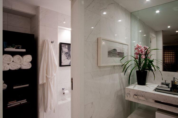 decorar banheiro velho:Inspire-se em 27 projetos para banheiros de sonho