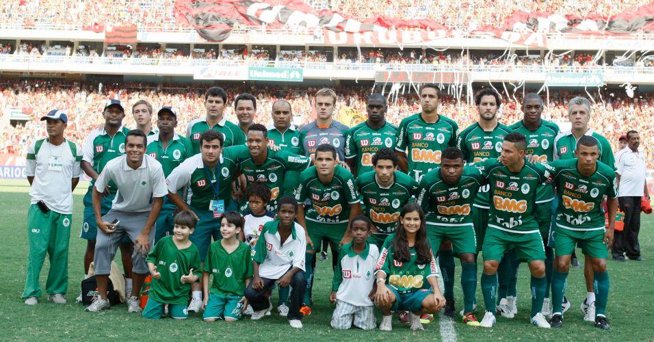 Time do Boavista posa para foto antes da final da Taça Guanabara con