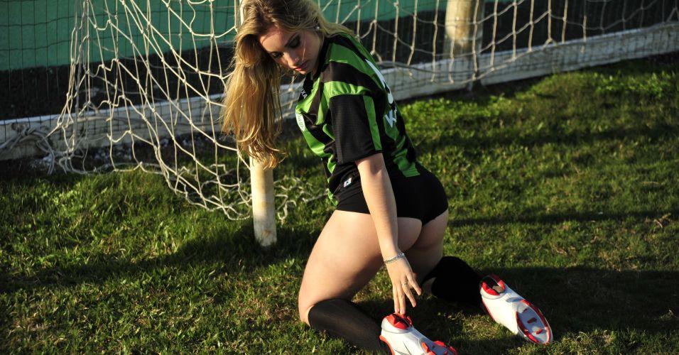 Raissa Ávila, gata do América-MG, só tem uma vitória entre as Gatas do Brasileiro. Participe da votação de UOL Esporte.