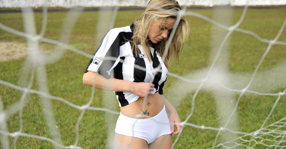 Alessandra Cardoso, gata do Botafogo, ainda não venceu no Gatas do Brasileiro.
