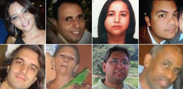Segunda-feira (30/1) - As autoridades do Rio de Janeiro localizaram os corpos de 17 pessoas no desabamento de três prédios no centro da capital fluminense, ocorrido na noite do dia 25 de janeiro de 2012. Cinco pessoas continuam desaparecidas. Treze foram identificadas.
