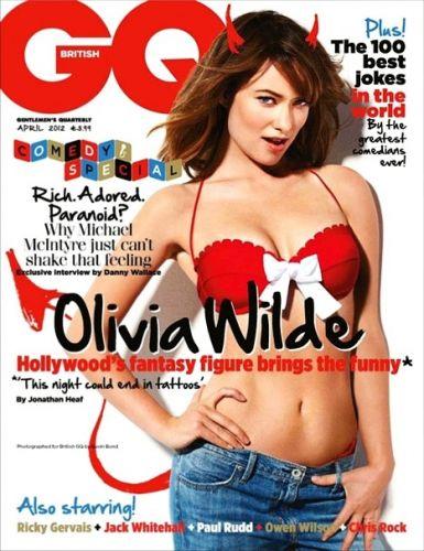 Terça-feira (6/3) - Olivia Wilde, uma das atrizes consideradas como as mais sexy de Hollywood, contou à revista 'GQ' do Reino Unido que está se esforçando para não reforçar o rótulo de 'mulher sexy'.