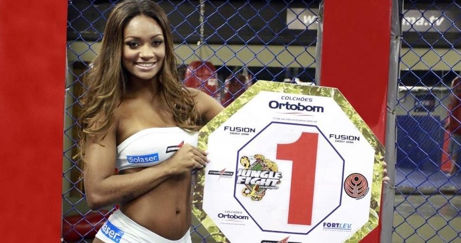 Segunda-feira (12/3) - A ex-BBB Jacqueline Faria será uma das 'ring girls' do Jungle Fight, maior evento de MMA da América Latina, no próximo dia 31 de março, em São Paulo.