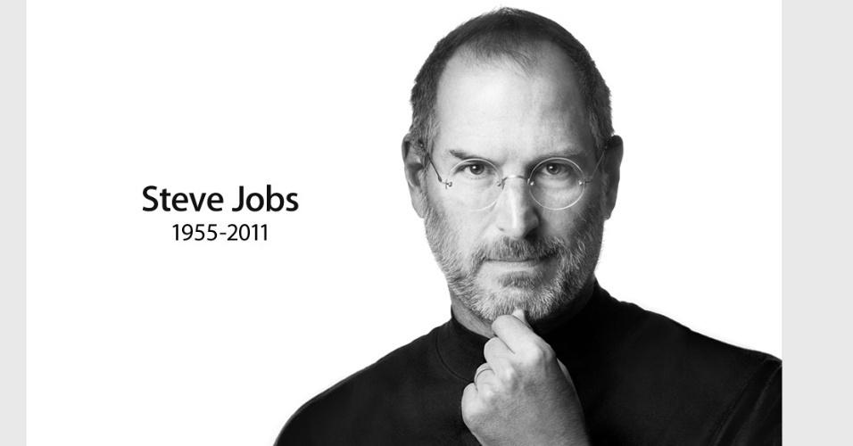 No dia 5 de outubro, a empresa americana Apple anunciou a morte de seu ex-diretor executivo e fundador Steve Jobs, aos 56 anos, vítima de câncer no pâncreas. ?A Apple perdeu um gênio criativo e visionário, e o mundo perdeu um ser-humano incrível?, dizia o comunicado oficial da empresa. Jobs foi responsável pela criação dos primeiros computadores pessoais, em 1977, e de novas tecnologias como o iPhone e o iPad