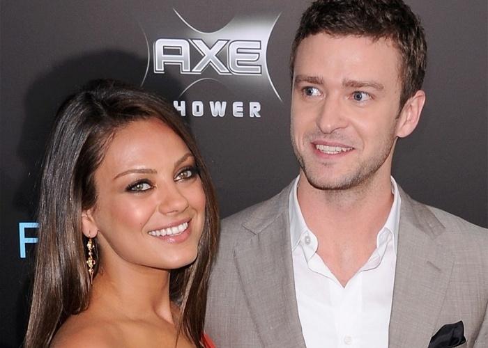 Mila Kunis também foi alvo da ação de hackers que roubaram fotos íntimas dela e de Justin Timberlake, com quem manteve um breve relacionamento em 2011