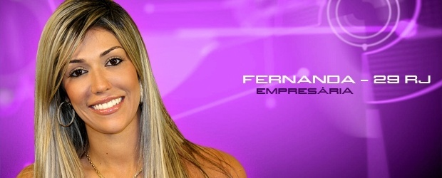 Fernanda, empresária