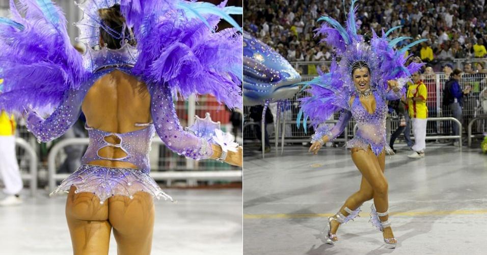 Tânia Oliveira foi uma das primeiras panicats a estrear no programa