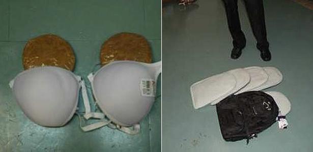 A Polícia Federal prendeu duas mulheres que tentavam embarcar transportando cocaína no Aeroporto Internacional de Cumbica, em Guarulhos (SP) (9/3/12)