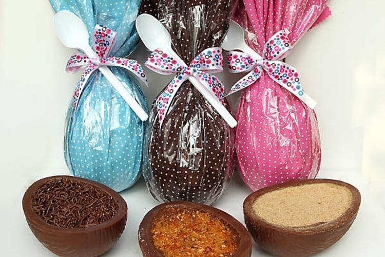 Seleção de ovos da Brigadeiro Doceria e Café