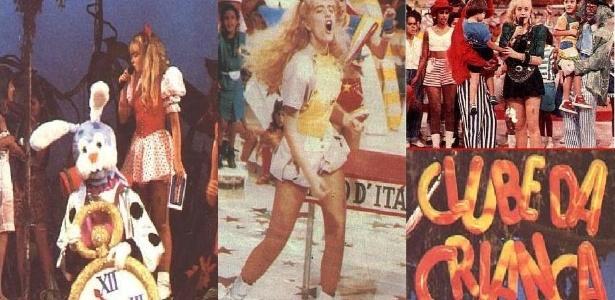 Na década de 90, a apresentadora se destacou no comando do 'Clube da Criança', na extinta TV Manchete