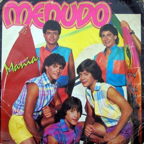 'Menudos' - Boy Band latina responsável por arrancar vários suspiros das garotas dos anos 80. Além do hit 'Não Se Reprima', que fez muito sucesso