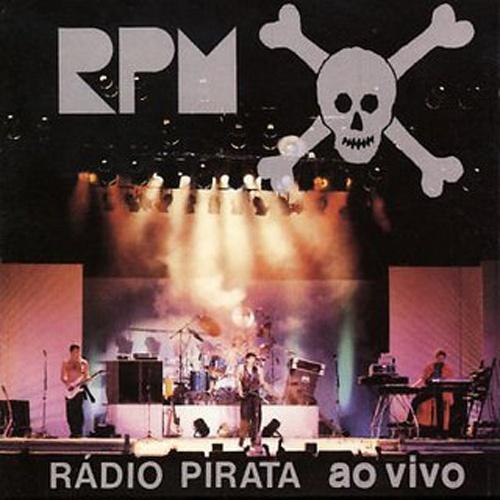 'RPM Rádio Pirata Ao Vivo' - Rock nacional que mais vendeu na década de 80