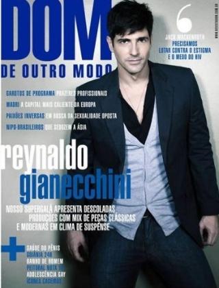 """Gianecchini é capa da """"DOM"""", publicação voltada ao público gay (maio/2009)"""
