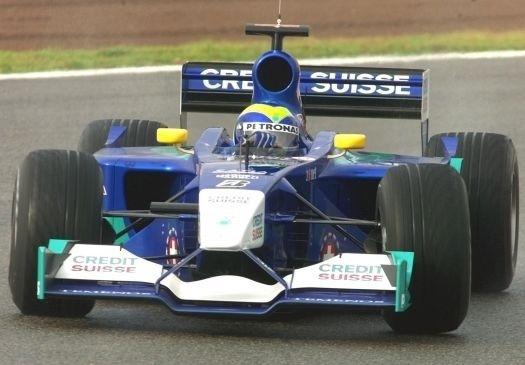 O desempenho fez com que a equipe Sauber, em 2001, convidasse o piloto para um teste (nov.2001).