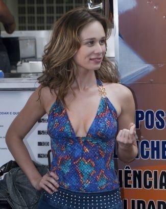 """Mariana Ximenes durante as gravações de """"Passione"""", novela exibida pela Globo em 2010"""