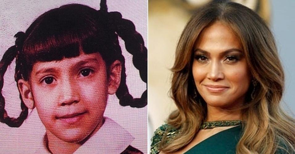A atriz e cantora Jennifer Lopez mudou a imagem de garota sapeca de trancinhas para uma das mulheres mais sexy do mundo