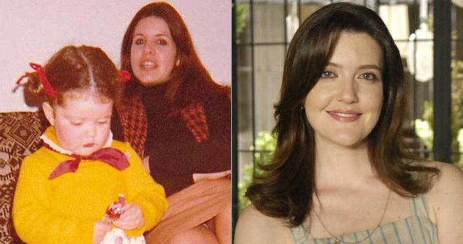 A atriz Larissa Maciel era uma menina muito fofa!