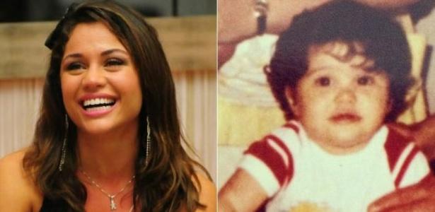 """Maria Melilo (28) mostrou para seus mais de 70 mil seguidores no Twitter uma foto de quando era criança. """"Olha eu pequenininha!!!"""", escreveu a ex-BBB na legenda da foto. A atriz, que integra o elenco do humorístico """"Casseta & Planeta"""", era muito fofa (2/5/12)"""