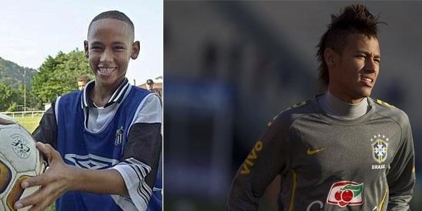Neymar já tinha um destino certo desde criança: tornar-se um dos jogadores mais craques dos gramados!